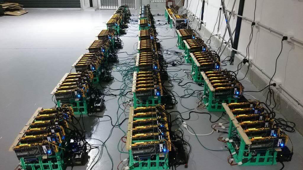 قطعات ریگ استخراج ارز دیجیتال