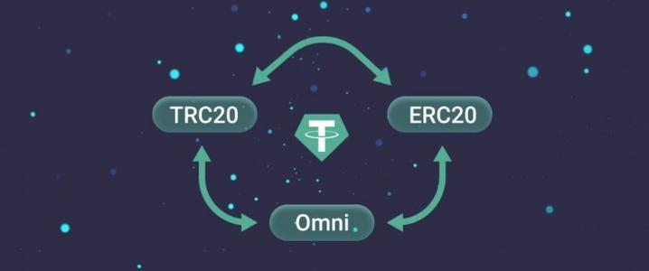 شبکه های انتقال ارز دیجیتال BEP2، BEP20، ERC20، OMNI و TRC20